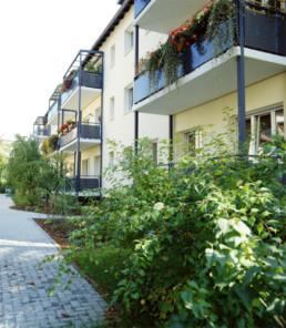 Denkmalgeschützte Wohnanlage, Roßlauer Str. 5, 7 und 7a, 04157 Leipzig